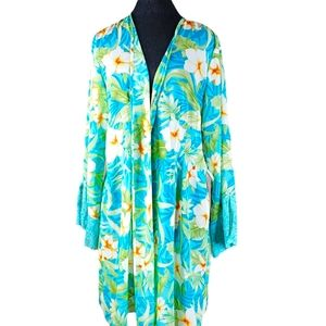 Valerie Stevens Intimates Women's Floral Robe